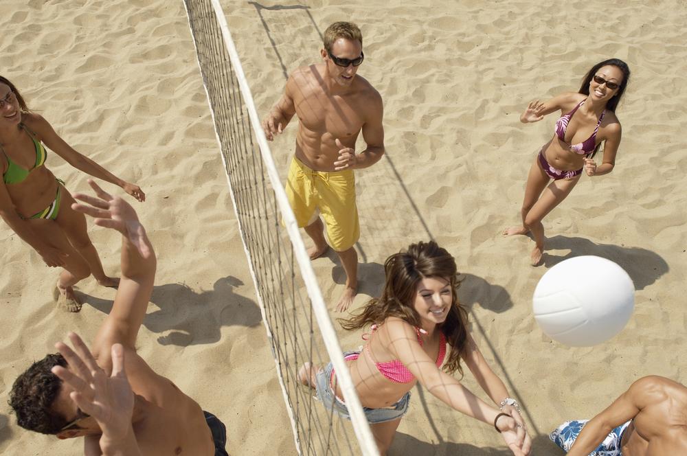 Sports, volleyball, woodbine beach, hansa
