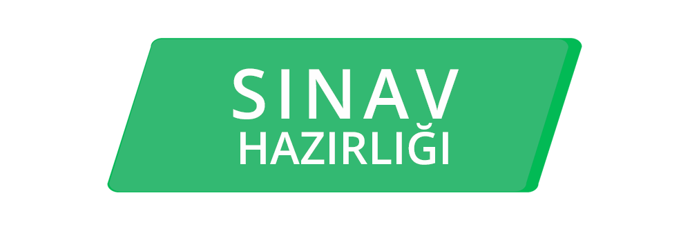 Exam Preparation Turkish SINAV HAZIRLIĞI