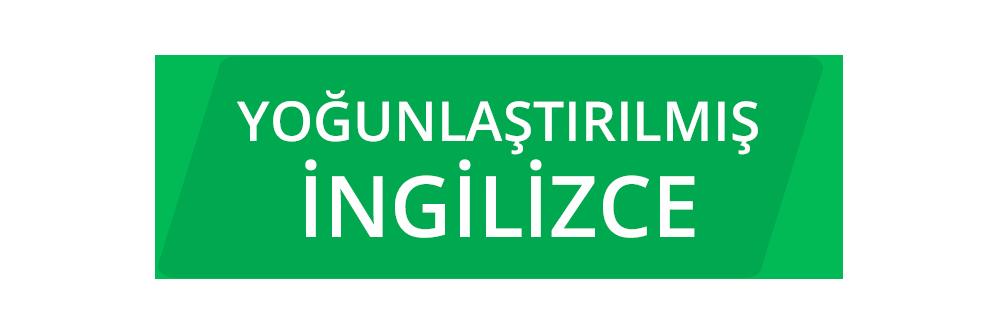 Intensive English Turkish YOĞUNLAŞTIRILMIŞ İNGİLİZCE